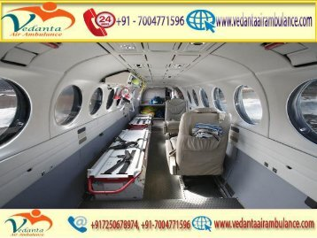 Vedanta Air Ambulance from Hyderabad to Delhi at an Economic cost