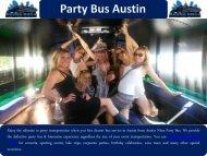 Party Bus Austin