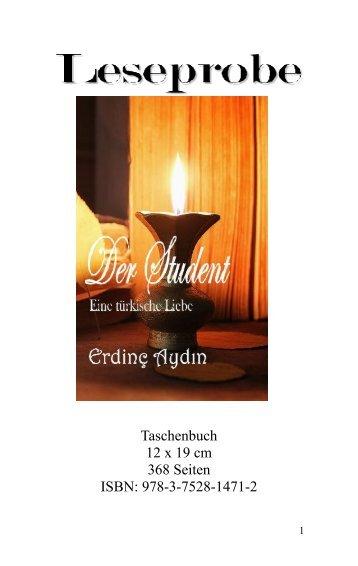"""Leseprobe """"Der Student: Eine türkische Liebe"""" von Erdinç Aydın"""