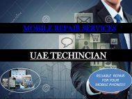 Mobile Repair Services Contact us +971-523252808