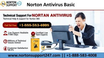 Norton Antivirus Technical Support Number | 1-888-583-4008