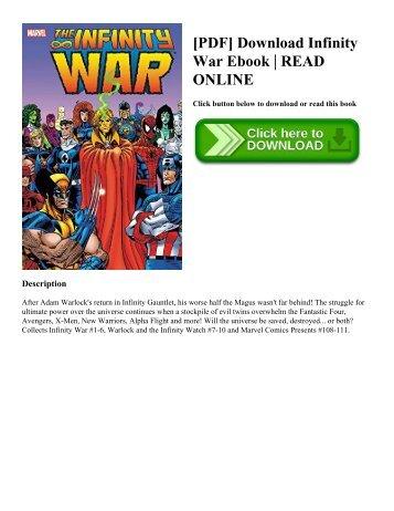 [PDF] Download Infinity War Ebook | READ ONLINE