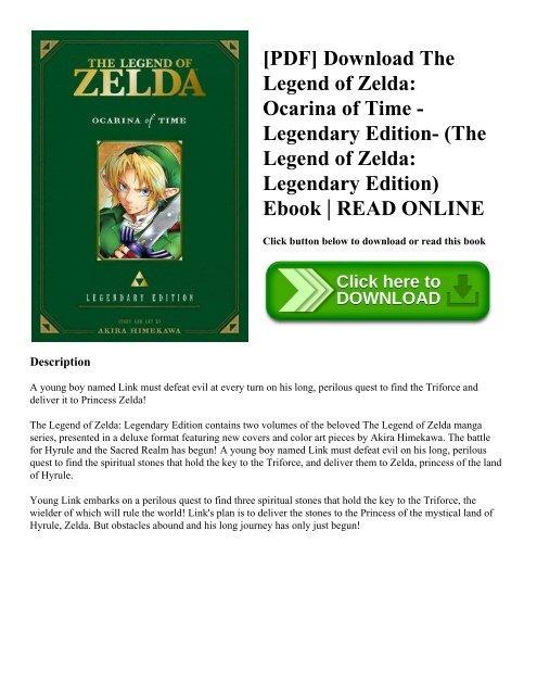 PDF] Download The Legend of Zelda: Ocarina of Time