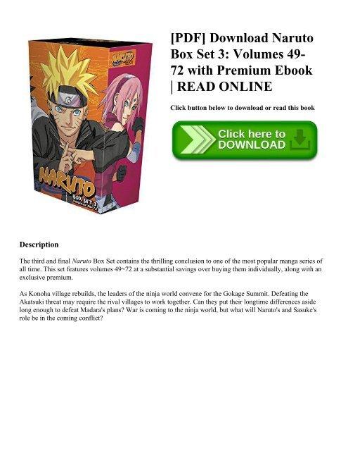 naruto complete manga download