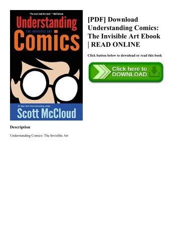 [PDF] Download Understanding Comics: The Invisible Art Ebook | READ ONLINE