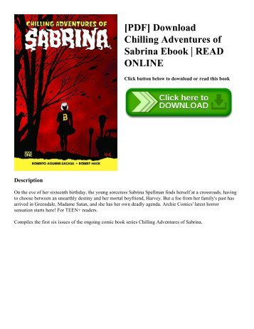 [PDF] Download Chilling Adventures of Sabrina Ebook | READ ONLINE