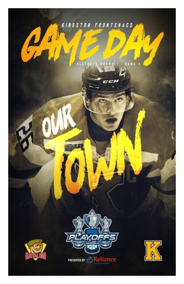 Kingston Frontenacs GameDay March 31, 2018