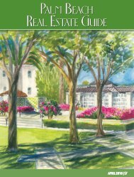 April 2018 Palm Beach Real Estate Guide