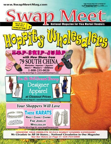 Swap Meet Magazine April 2018
