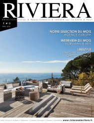 Riviera Sélections - Avril 2018