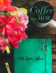 Coffee with Moe, Spring 2018