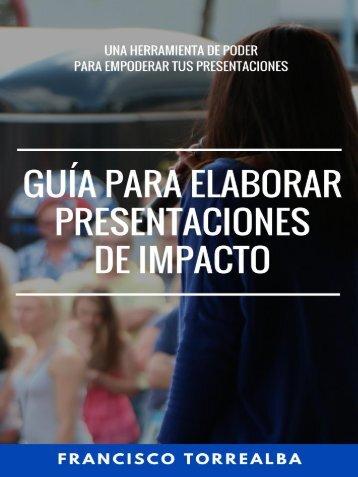 Guía para elaborar presentaciones de impacto