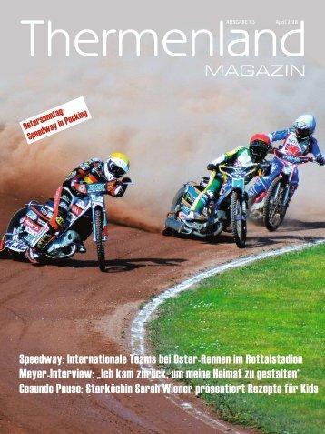 Thermenland Magazin, April 2018