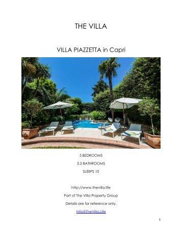 Villa Piazzetta - Capri