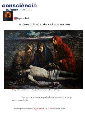 Artigo. A Consciência de Cristo em Nós.