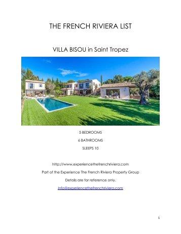 Villa Bisou - Saint Tropez