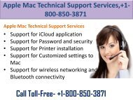 Apple Mac Technical Support