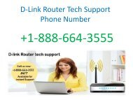 How to change the password of your D-link Router call the +1-888-664-3555 D-link router support number