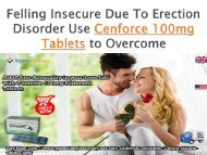 Buy Cenforce 100mg Online for Great Sensual Experience