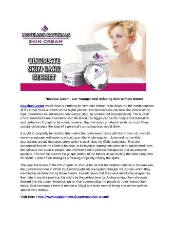 Novellus Cream - Reverse Aging Naturally