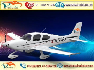 Vedanta Air Ambulance from Kharagpur to Delhi at a very Affordable price