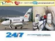 Vedanta Air Ambulance from Kanpur to Delhi at a Low-cost