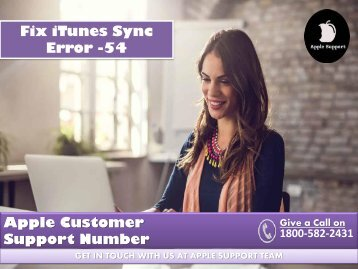 Fix iTunes Sync Error -54