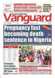 31032018 - Pregnancy fast becoming death sentence in Nigeria