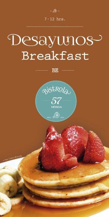 Desayunos - Bistrola 57
