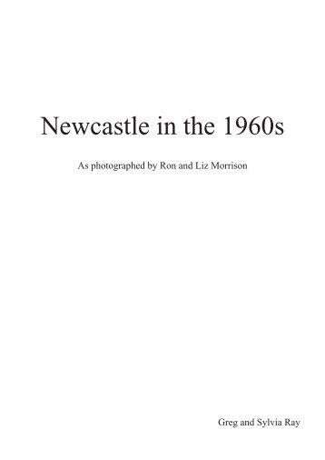 Pages from Newcastle in the 1960s