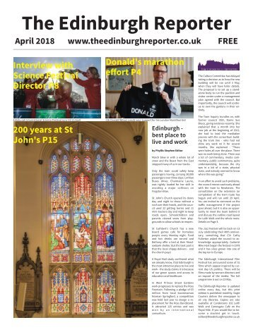 The Edinburgh Reporter April 2018 issue