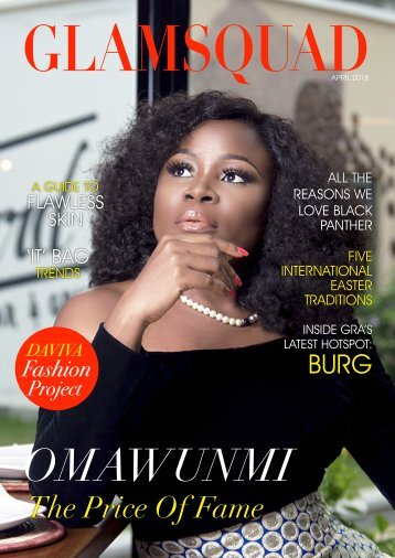 Glamsquad Magazine April 2018