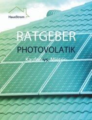 Ratgeber Photovoltaikanlage Miete oder Kaufen