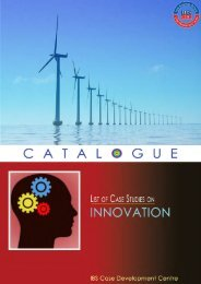 Case Studies on Innovation - Case Catalogue