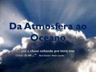 Da Atmosfera ao Oceano - Dulce Campos