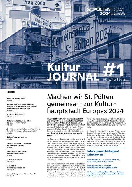 KulturJOURNAL #1