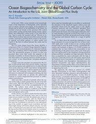 Ocean Biogeochemistry and the Global Carbon Cycle: