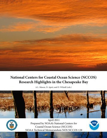 National Centers for Coastal Ocean Science (NCCOS) Research ...