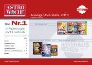 Astro-Preisliste 2012 - Wunderweib