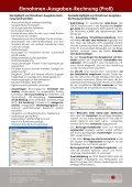Einnahmen-Ausgaben-Rechnung (Profi) - SCHWEIGHOFER Manager - Seite 2