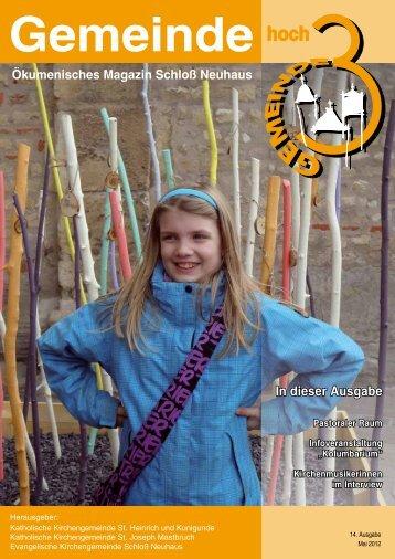 Ausgabe 14 • Mai 2012 - Kath. Kirchengemeinde St. Heinrich und ...