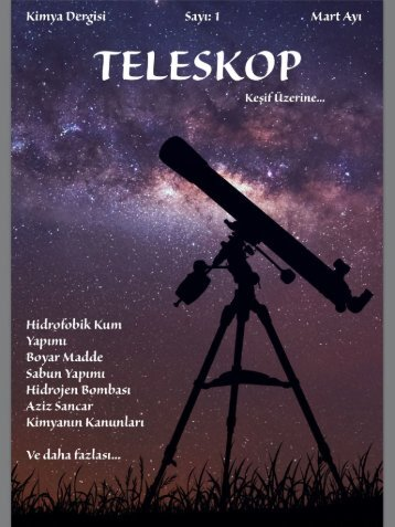 Teleskop Kimya Dergisi
