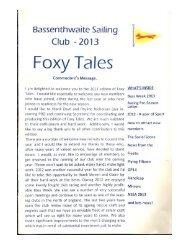 Foxy Tales 2013