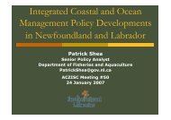 Integrated Coastal and Ocean Management Policy Developments in ...