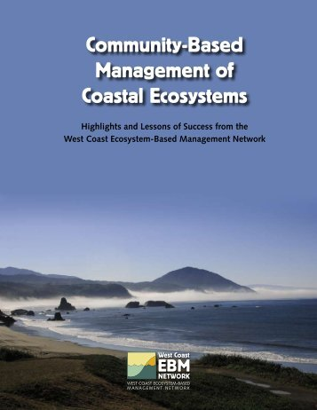 Community-Based Management of Coastal Ecosystems