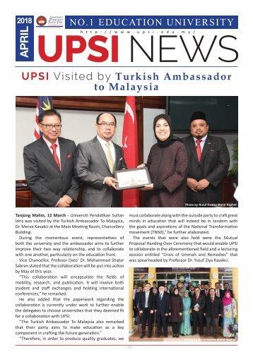 UPSI NEWS APRIL 2018 UPDATE