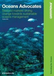 Download Oceans Advocates report - Greenpeace