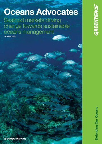 Download Oceans Advocates report - Greenpeace