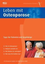 CalciCare - Osteoporose Therapie, Stoffwechselerkrankung des ...
