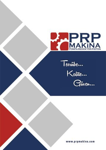 PRP MAKİNA E-CATALOG